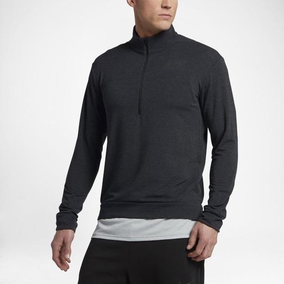 3483a719fd Nike Men s Dri-Fit Dry Half Zip Top Shirt Pullover